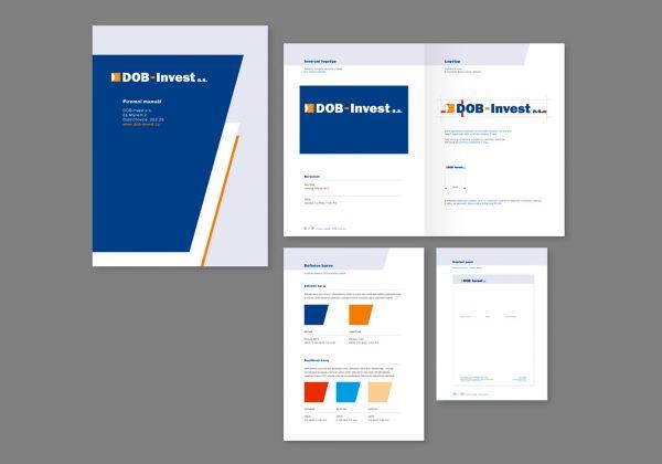 Design manuál firmy DOB Invest a.s.