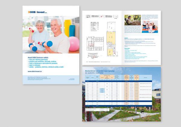 Brožura firmy DOB Invest a.s.