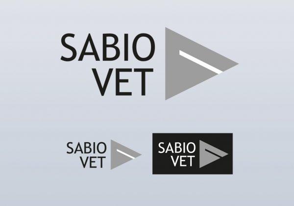 Jeden z návrhů logotypu značky Sabiovet (vítězná varianta)
