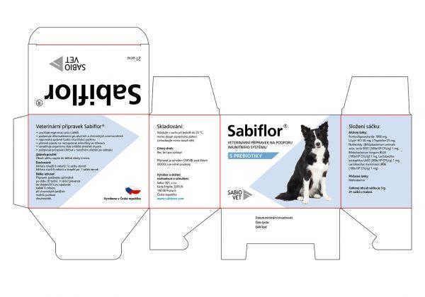 Rozpracování návrhu potisku krabičky s veterinárním přípravkem