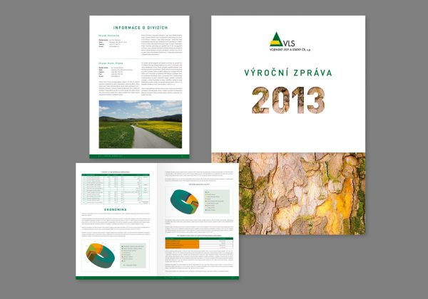 Výroční zpráva pro Vojenské lesy a statky, s.p.