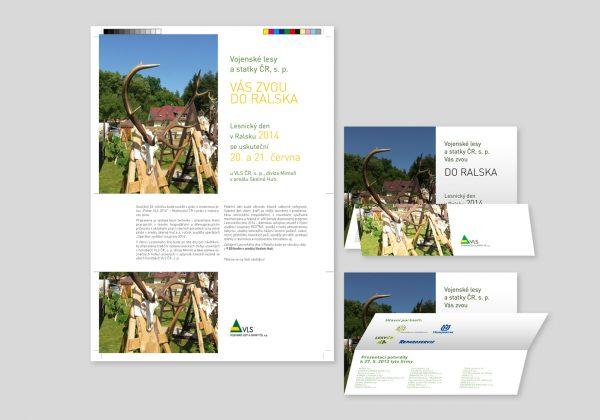 Prezentační materiály pro Vojenské lesy a statky, s.p.