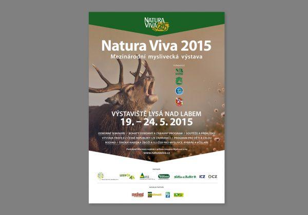 Návrh katalogu mezinárodní výstavy Natura Viva 2015