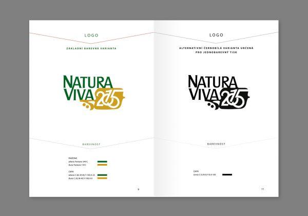 Design manuál k mezinárodní výstavě Natura Viva 2015