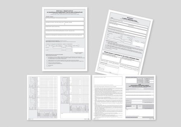 Tiskopisy pro státní správu