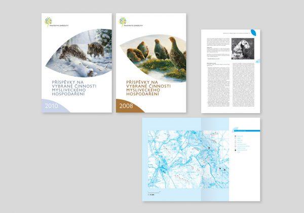 Brožury pro Ministerstvo zemědělství ČR