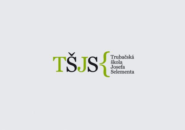 Firemní styl | návrh logotypu Trubačské školy Josefa Selementa