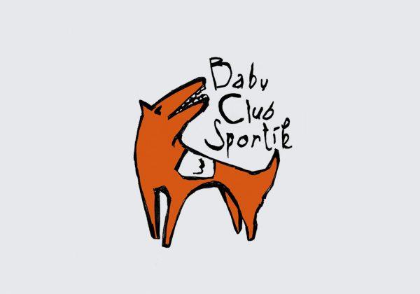 Firemní styl | návrh logotypu Baby Club Sportík