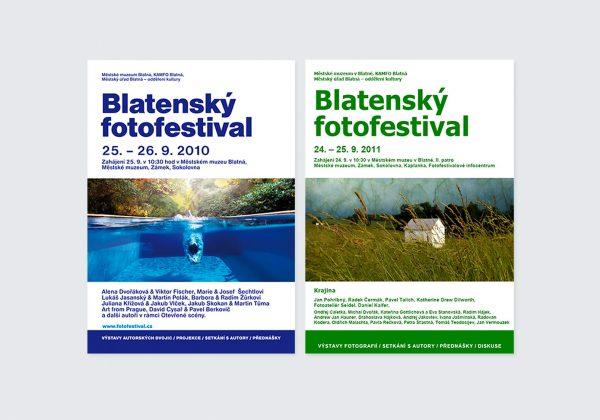 Zpracování plakátů pro Blatenský fotofestival