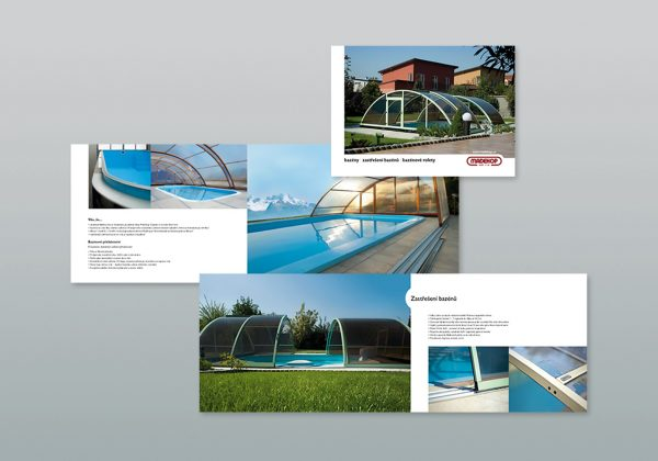 Návrh katalogu a fotografování bazénů pro firmu Madekop