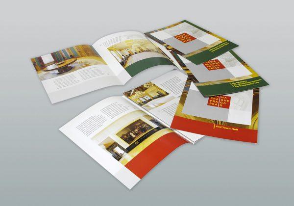 Návrh brožury Hlavního města Prahy