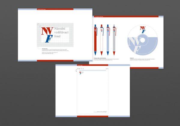 Firemní design Národního vzdělávacího fondu