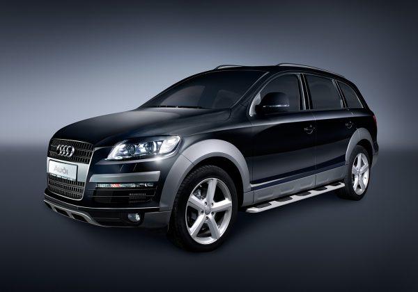 Fotografování a postprodukce Audi