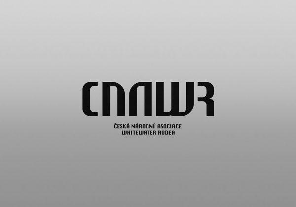 Návrh logotypu České národní asociace whitewater rodea