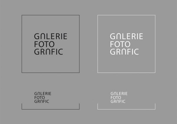 Návrh logotypu Galerie Fotografic