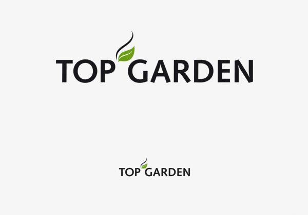 Návrh logotypu Top Garden