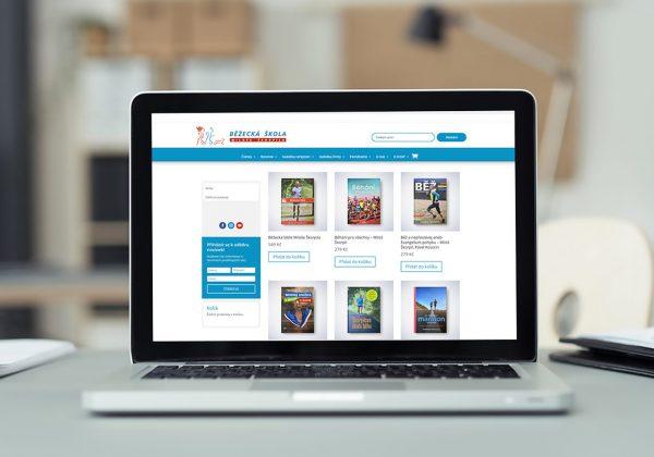 Responzivní webová prezentace a e-shop Běžecké školy Miloše Škorpila