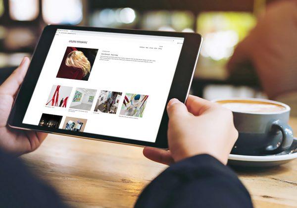 Responzivní webová prezentace Galerie Fotografic